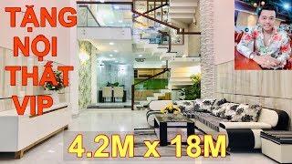 Bán Nhà Gò Vấp #161 💖4.2m x 18m 4.5 Lầu Hẻm Thông 8m. 1 Trục Quang Trung  Kinh Doanh