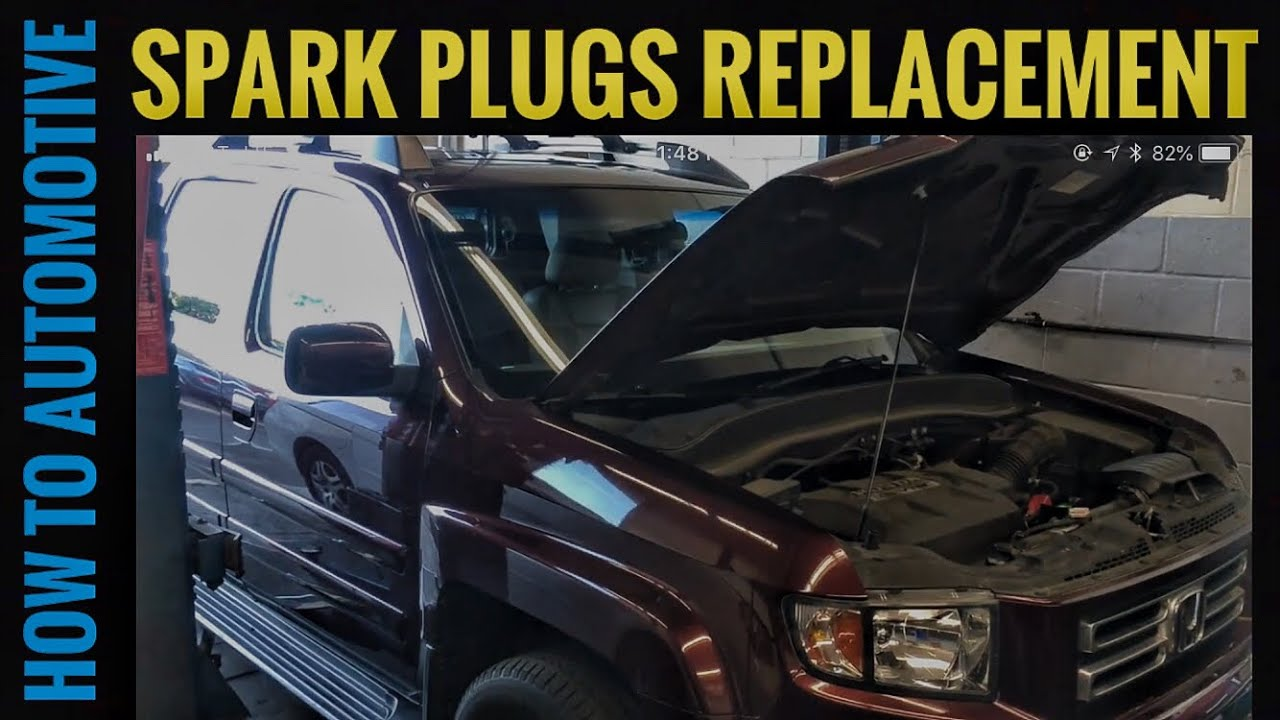how to replace the spark plugs on a 2008 honda ridgeline pilot youtube rh youtube com
