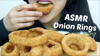 aSMR BEST ONION RINGS (Extreme Crunch EATING SOUNDS) No Talking | SAS-ASMR