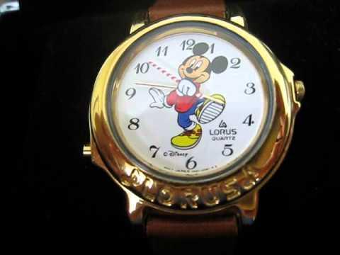 Lorus Seiko Mickey Mouse Musical Watch