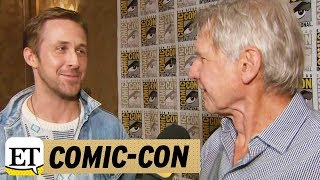 EXCLUSIVE: Ryan Gosling Gushes Over Harrison Ford Says He's 'Cooler' Than the Characters He Plays