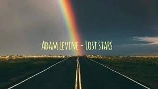 Gambar cover Adam Levine - Lost stars (lirik terjemahan Indonesia)