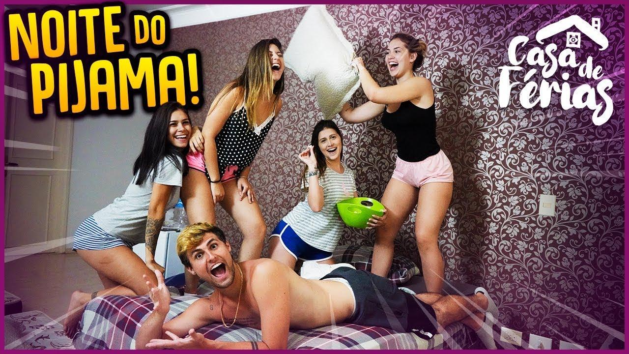 NOITE DO PIJAMA!! - CASA DE FÉRIAS #3 [ REZENDE EVIL ]
