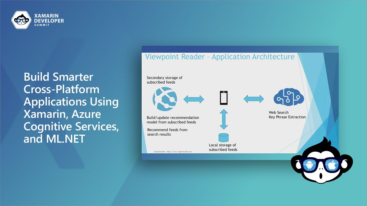 Build Smarter Cross-Platform Applications Using Xamarin, Azure Cognitive Services, & ML.NET