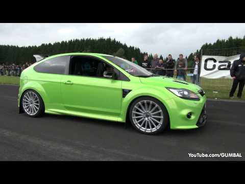 430HP Ford Focus RS Wolf Racing – Acceleration with Backfiring Sound!