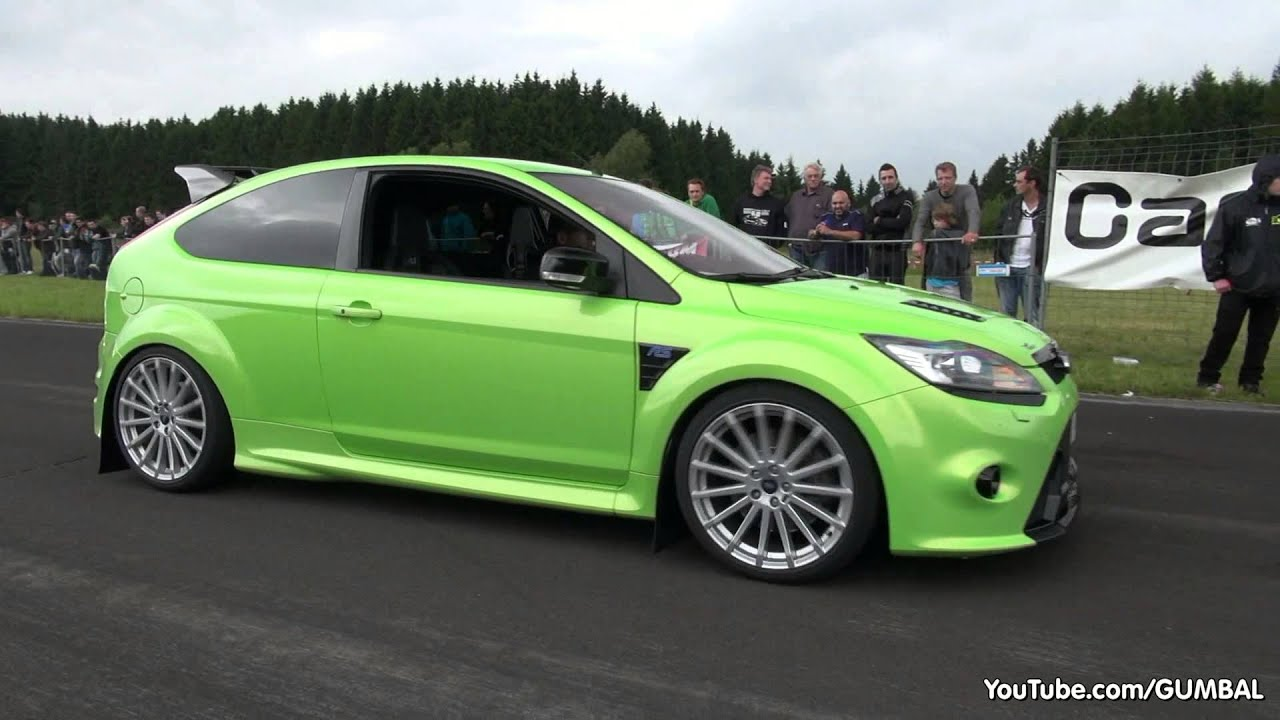 430hp ford focus rs wolf racing acceleration with backfiring sound youtube. Black Bedroom Furniture Sets. Home Design Ideas