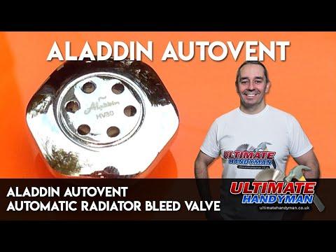 Aladdin autovent   automatic radiator bleed valve