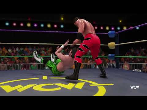 WWE 2K18 Universe Mode   April 2018, Week 4 WCW   Logan Payne vs Freddy Mundo