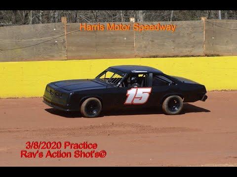 Harris Speedway 3/8/20 practice 2 of 2