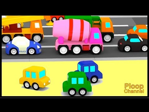 Thumbnail: Cartoon Cars - ROAD REPAIRS! - Cartoons for Children - Childrens Animation Videos for kids