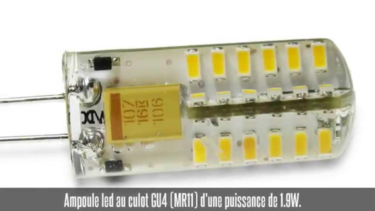 Ampoule led g4 1 9w 20w 360 130 lm 3000 k youtube - Ampoule g4 20w ...