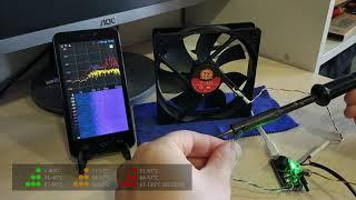 Бесшумный ПК. Noiseless PC. Умное охлаждение БП на Arduino. Smart cooling using Arduino.