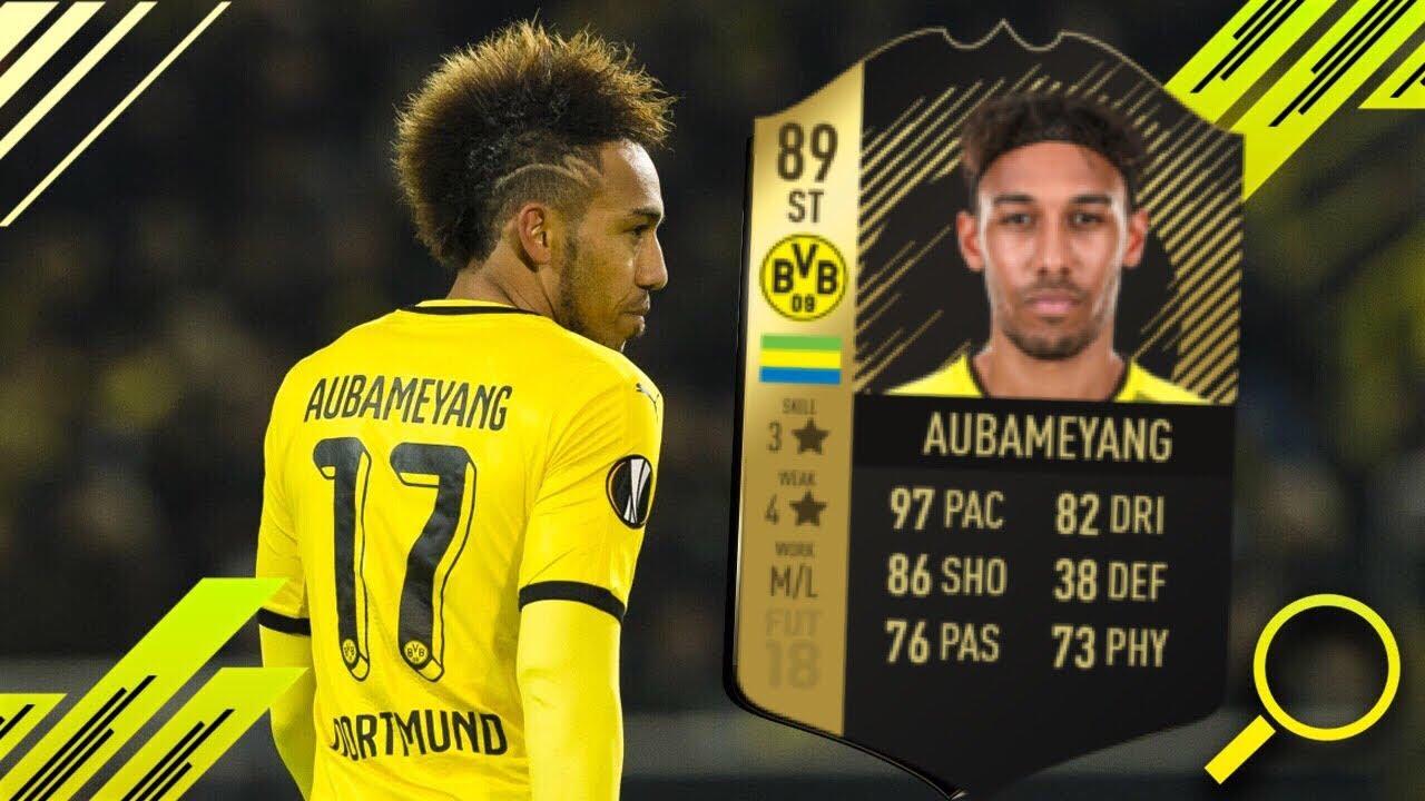 aubameyang fifa 18