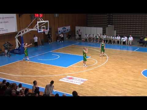 Posnetek finalne košarkarske tekme (moški) med VEN : LIT