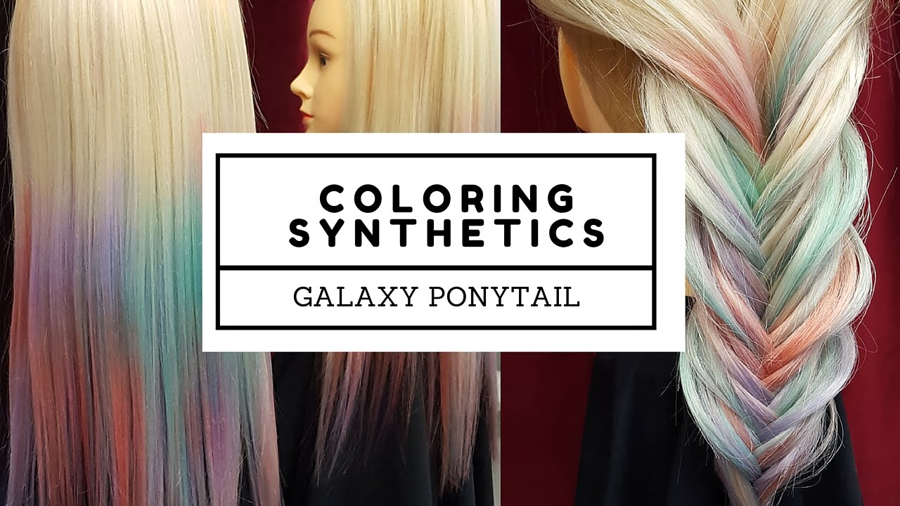 How to Color Synthetic Hair Extensions: 4 Steps (with Pictures)