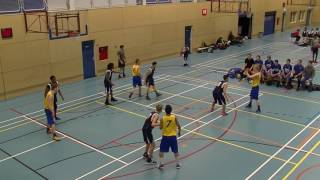 21 januari 2017 HBV The Jumpers U22 vs Rivertrotters U22 53-57 1st period