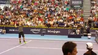 Andy Murray smash!!
