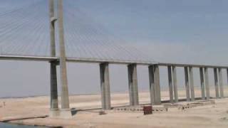 Egypt  Suez Canal  Egyptian Japanese Friendship Bridge