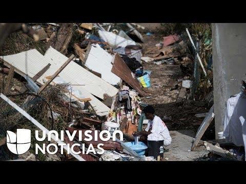 La isla San Martín vive una situación de emergencia sin agua ni comida