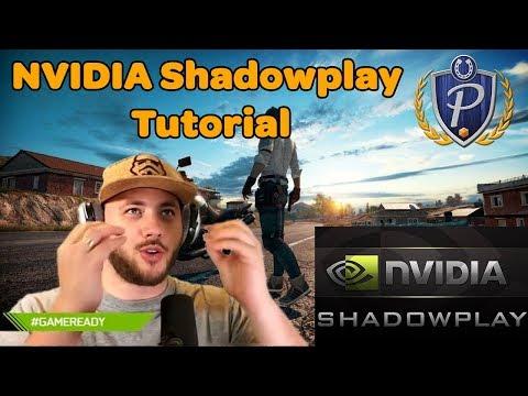 NVIDIA Shadowplay Tutorial + Highlights