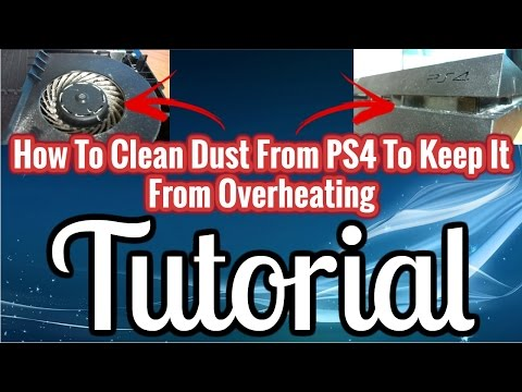 How To Clean Your PS4 FAN Tutorial