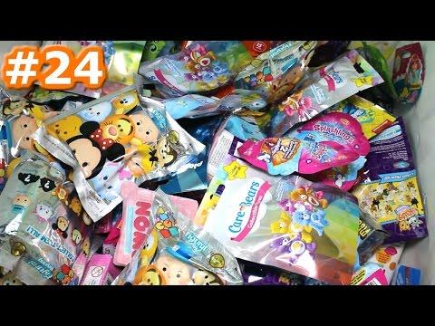Random Blind Bag Box Episode #24 - Tsum Tsum Figural, Care Bears, Minecraft, Crystal Surprise