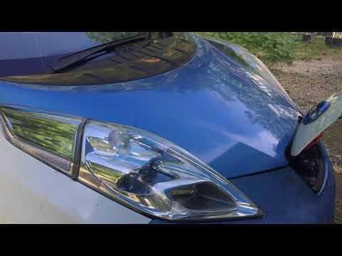 Nissan Leaf charged in to off grid solar