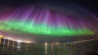 Aurora Borealis,Arkhangelsk 17.03.2015