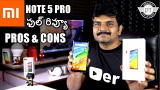 Redmi Note5 Pro Review With Pros & Cons ll in telugu ll
