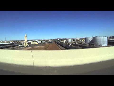 Oil Refinery, Pawn & Jewelry & Homeless People on Indian School Road, Phoenix, Arizona, GP010077