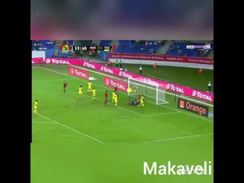 Maroc vs togo 20/01/2017 maroc 2017   (3/1)
