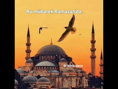 Ramazan ayına aid video