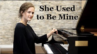 """""""She Used To Be Mine"""" from Waitress"""