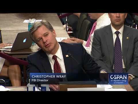 FBI Director Wray Opening Statement (C-SPAN)