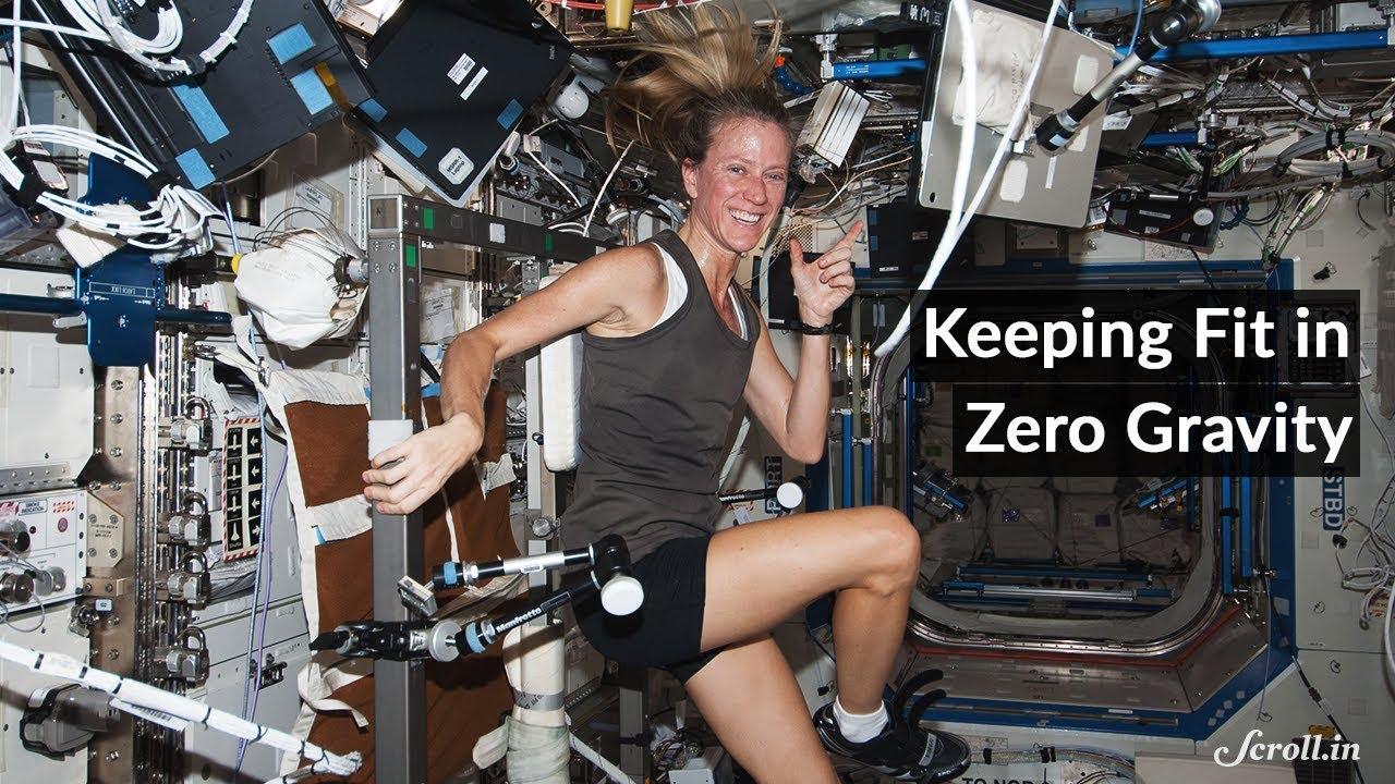 How do Astronauts Exercise in Zero Gravity? - YouTube