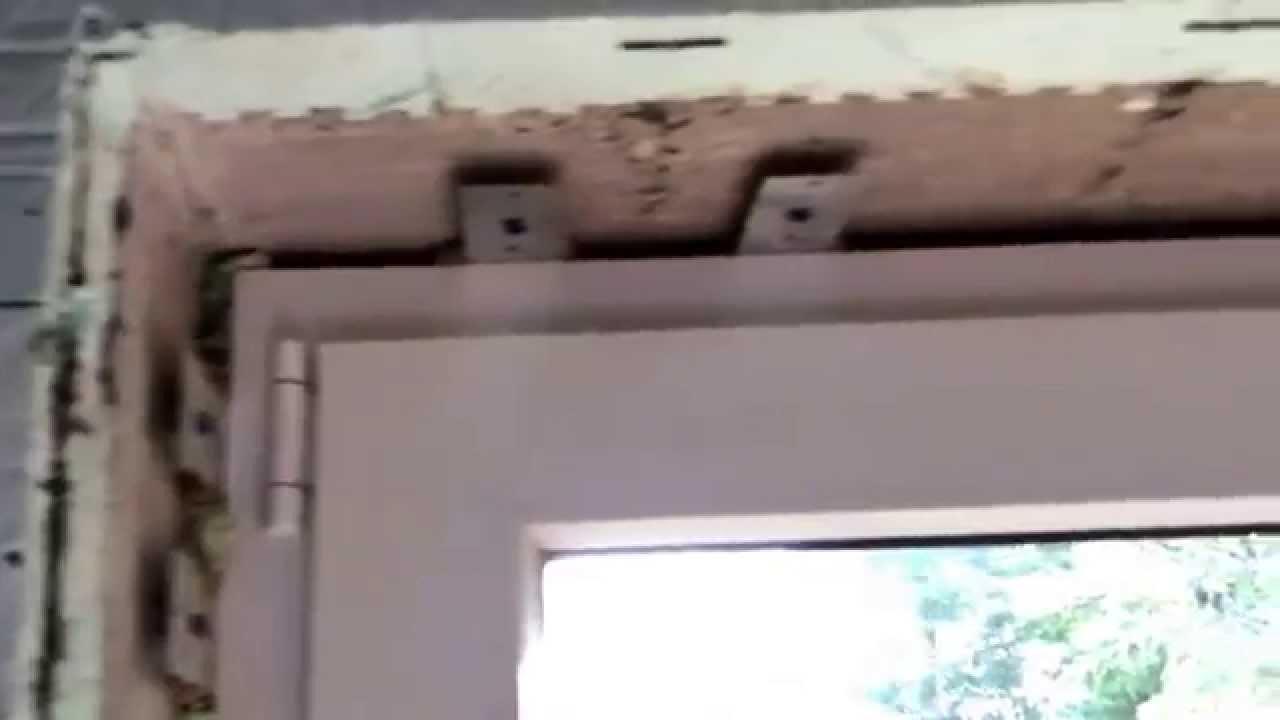 Icf Patio Door Installed No Wood Youtube