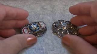 видео Серебряные броши