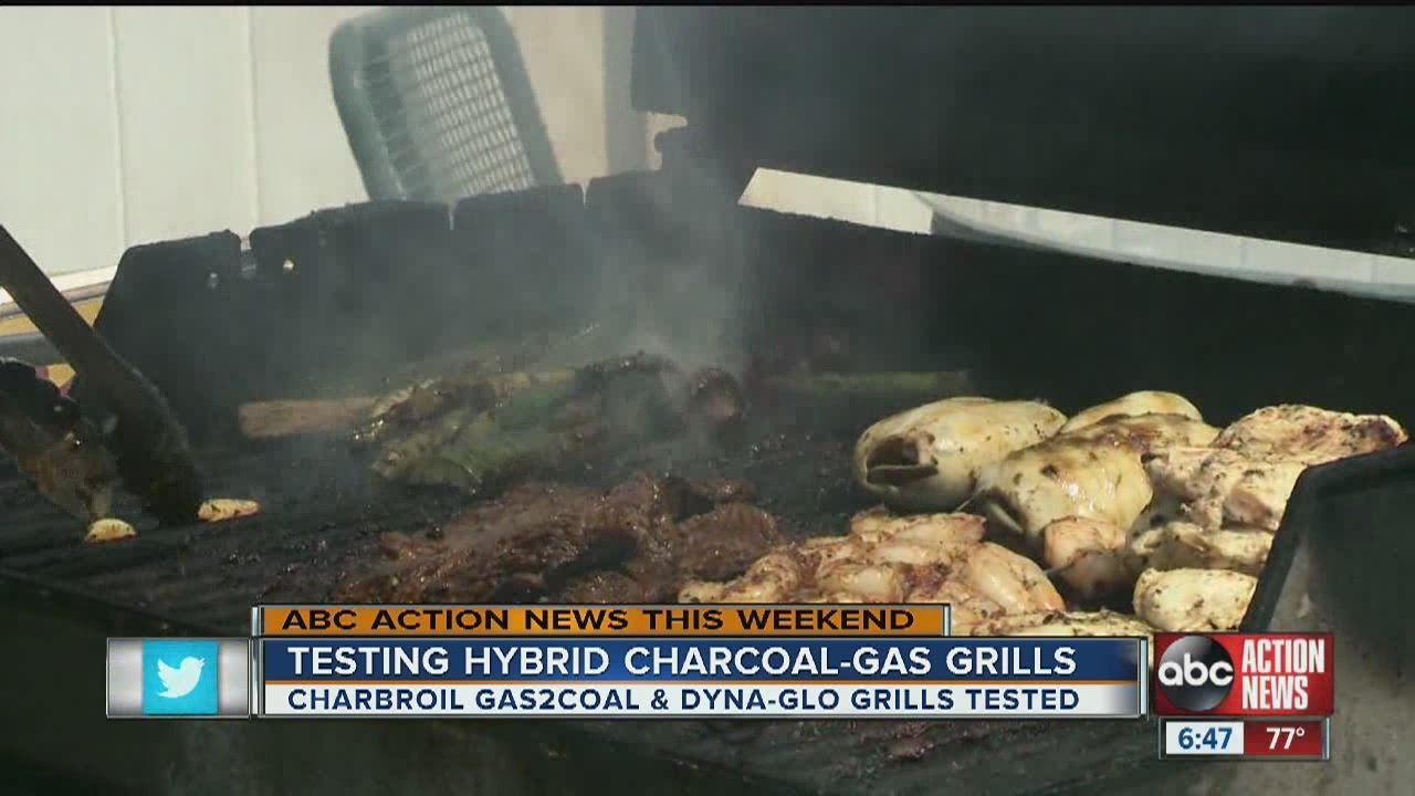 does a hybrid grill really give you the best of both worlds? - youtube
