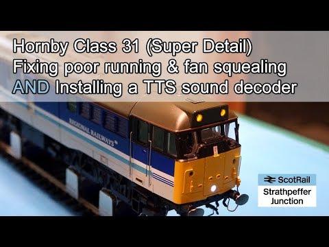 #5 Hornby Class 31 Fan Removal & Installing a TTS Sound Decoder