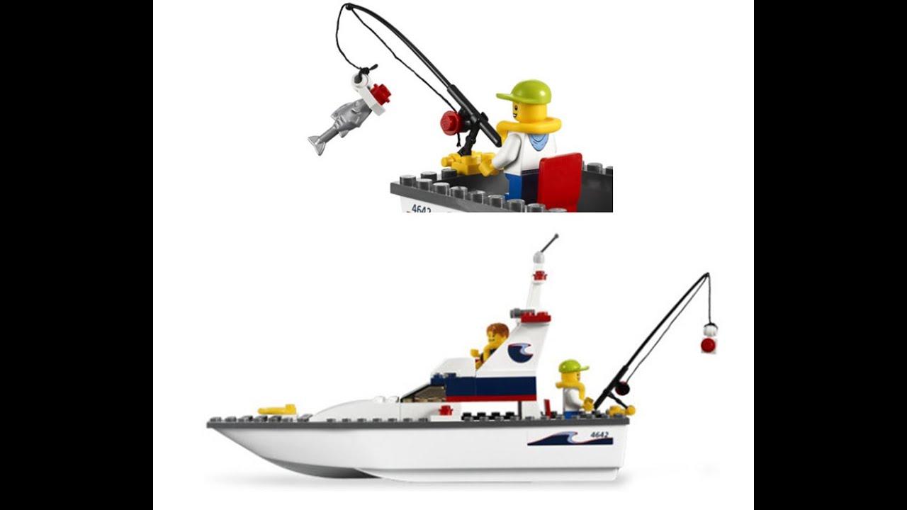lego city bateau de pche jouets pour les enfants