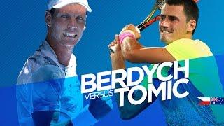 Tomas Berdych vs Bernard Tomic Highlights HD PART  1 Australian Open 2015