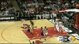 21 03 2009 bulls lakers  lakers highlights