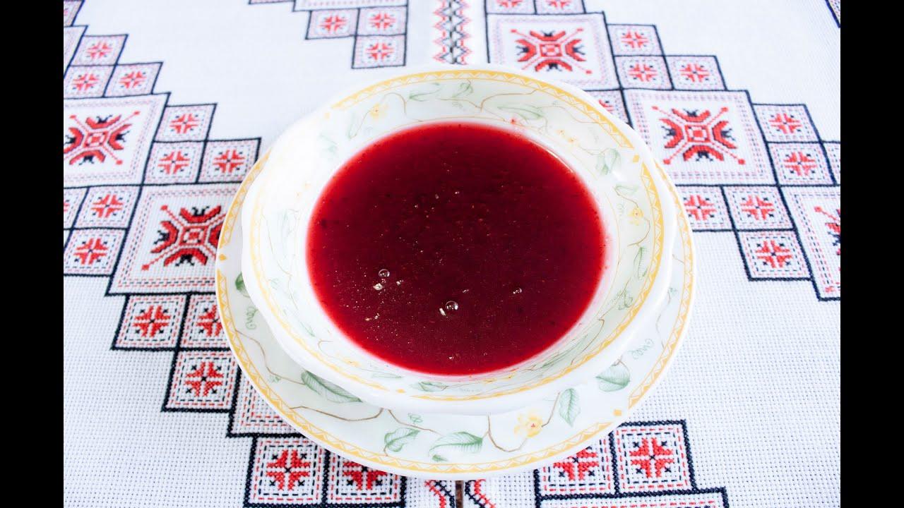 как приготовить соус из брусники на зиму