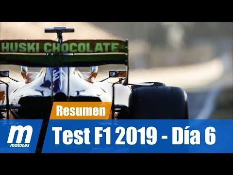 Resumen Día 6 | Test Barcelona | F1 2019