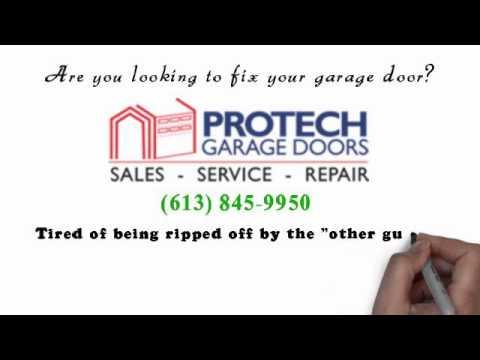 Protech Garage Door Ottawa - Trust Us  sc 1 st  YouTube & Protech Garage Door Ottawa - Trust Us - YouTube pezcame.com
