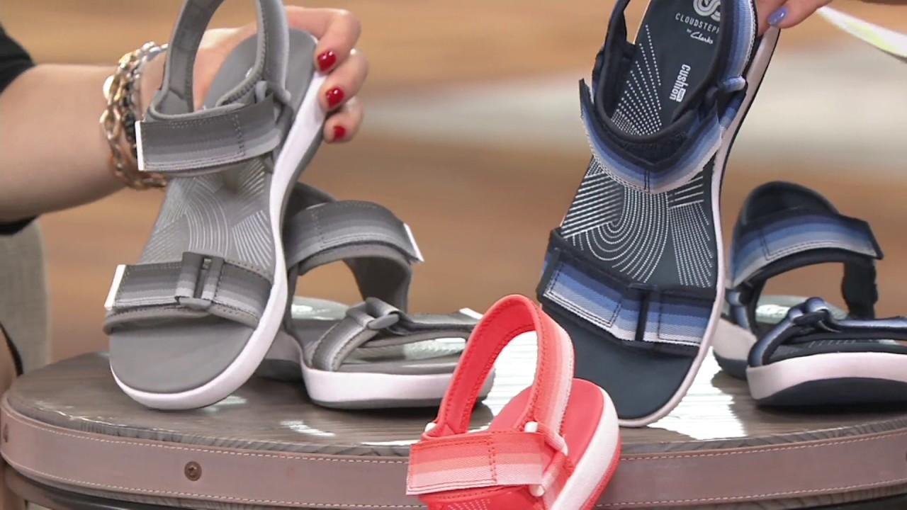 b3d214005b41 Clarks Cloud Steppers Double Adjust Sport Sandals - Brizo Ravena on ...