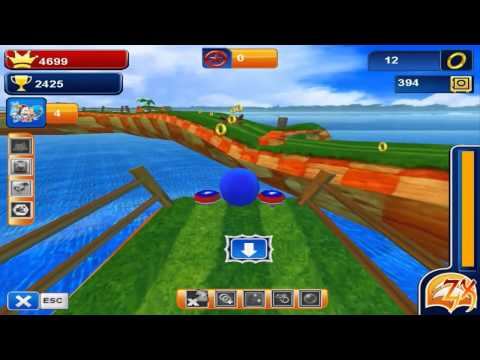 Sonic Boom 2 PC Gameplay [Sonic 3D Dash Fangame]