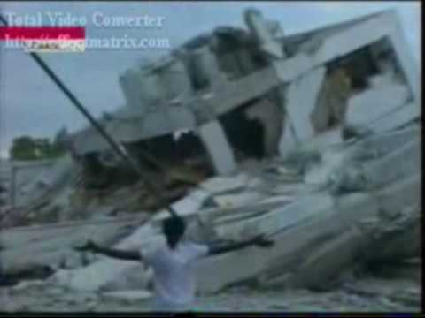 землетрясение в гаити видео