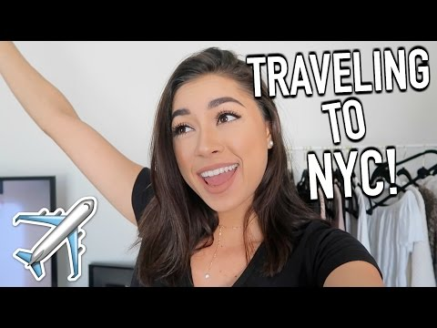 New Travel Luggage, Going to NYC, & Hotel Room Tour!