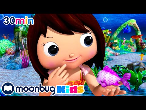 Little Mermaid Princess | Little Baby Bum Junior | Cartoons And Kids Songs | Songs For Kids